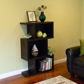 Conrad 3-cube Dark Birch Bookcase/ Display