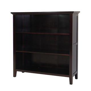 Ferndale Espresso Three-shelf Bookcase