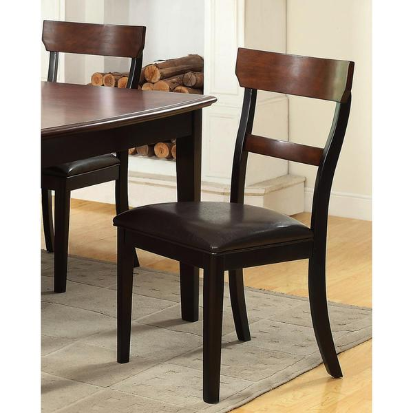 Riverside Two-tone Dining Chairs (Set of 2)