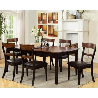 Riverside Two-tone 7-piece Dining Set