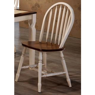 Country Deluxe Arrow-back Dining Chairs (Set of 2)