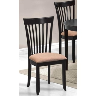 Legacy Cappuccino Slat Back Dining Chairs (Set of 2)