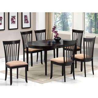 Legacy Cappuccino Slat-back 7-piece Dining Set