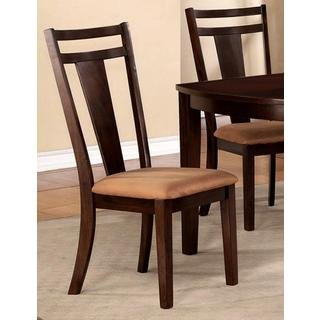 Sedona Espresso and Microfiber Dining Chairs (Set of 2)