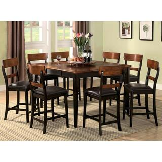 Freesia Two-tone Counter Height Dining Set