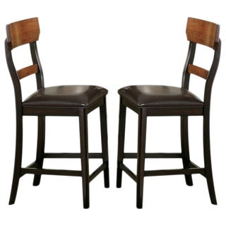 Freesia Two-tone Counter Stools (Set of 2)