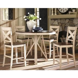 Limonium Antique Counter Height 5-piece Dining Set