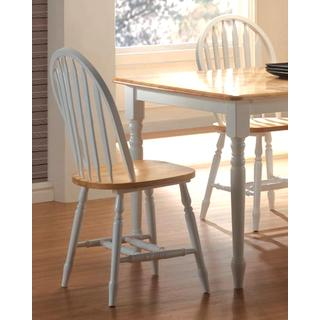 Eira Two-tone Windsor Arrow Back Dining Chairs (Set of 4)
