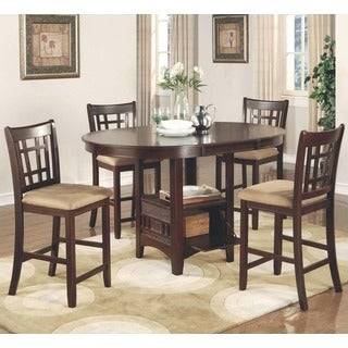 Azalea Cherry Counter Height Dining Set