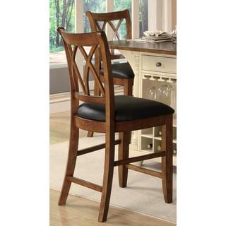 Palermo Cherry Counter Stool (Set of 2)