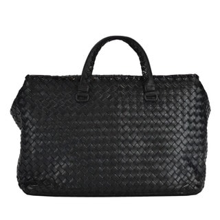 Bottega Veneta Woven Nappa Leather Tote Handbag