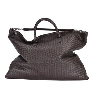 Bottega Veneta Nappa Leather Convertible Tote Handbag