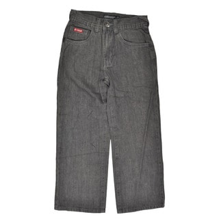 Ecko Unltd Boy's Grey Wash Denim Jeans