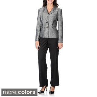 Danillo Women's Triple Side Tab Detail Pant Suit