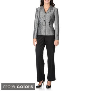 Danillo Women's Triple Side Tab Detail Pant Suit