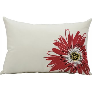 Mina Victory by Nourison Ivory Floral Indoor/ Outdoor Throw Pillow
