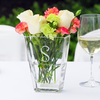 Personalized Wedding Vase