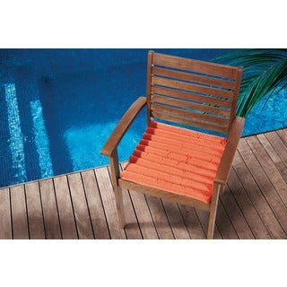 Mina Victory Tangerine 17-inch Indoor/ Outdoor Chair Pad