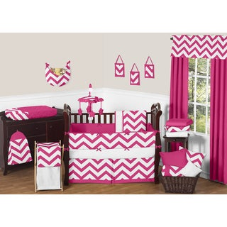 Sweet Jojo Designs Chevron 9-piece Crib Bedding Set