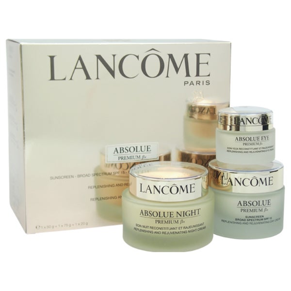 Lancome Absolue Premium Bx Day-Night and Eyes Ritual 3-piece Set