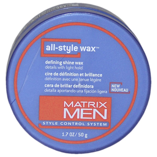Matrix Men's All-Style 1.7-ounce Hair Wax