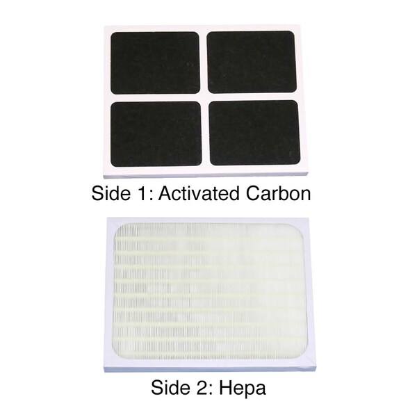 Sunpentown Living Room Appliance Replacement HEPA/ Carbon Filter for AC-3000(I) 13378146