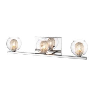 Z-Lite Auge 3-light Chrome Vanity
