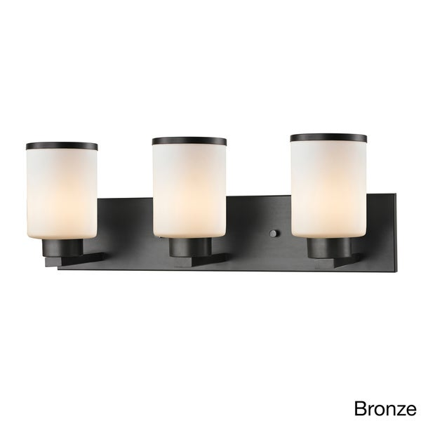 Z-Lite Roxburgh 3-light Matte Opal Glass Vanity