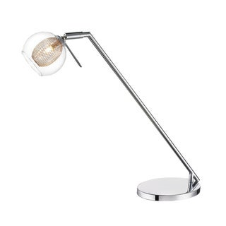 Z-Lite Agai 1-light Chrome Desk Lamp