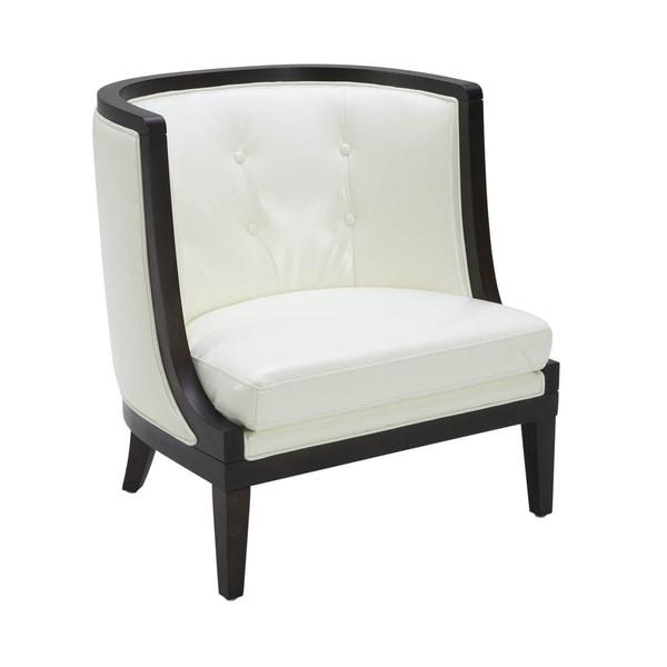 Sunpan Walters Bonded Leather Armchair