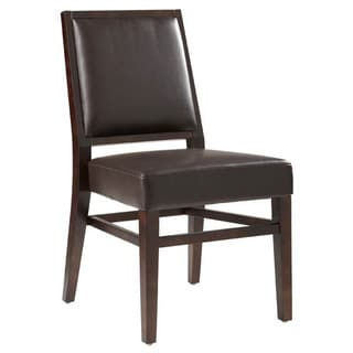 Sunpan Citizen Bonded Leather Dining Chair (Set of 2)