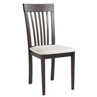 Sunpan Emporium Faux Leather Dining Chair (Set of 2)