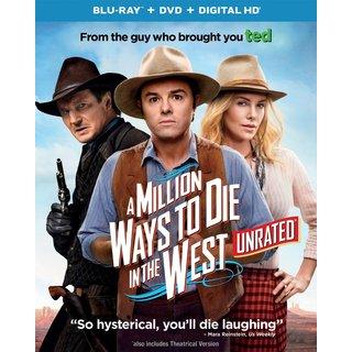 A Million Ways To Die In The West (Blu-ray/DVD)