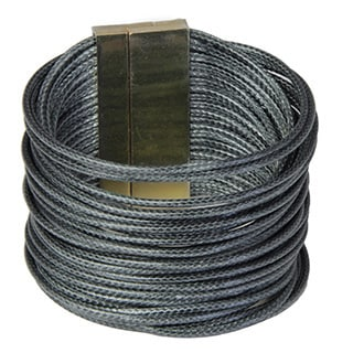 Saachi Multi Strand Cord Bracelet (China)