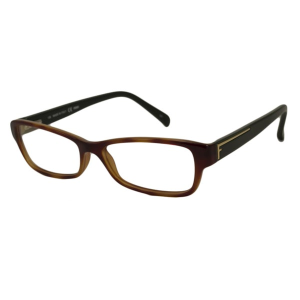 Optical Glasses Deals : Fendi Womens F1037 Rectangular Optical Frames
