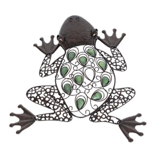 Glow in the Dark Frog Wall Art