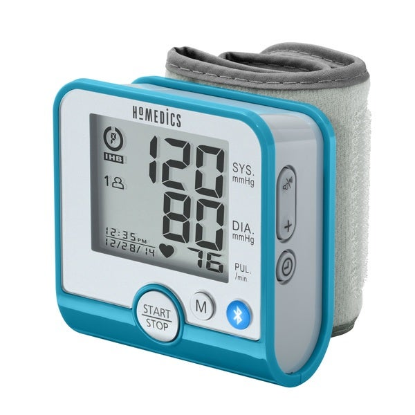 Homedics Premium Bluetooth Wrist Blood Pressure Monitor