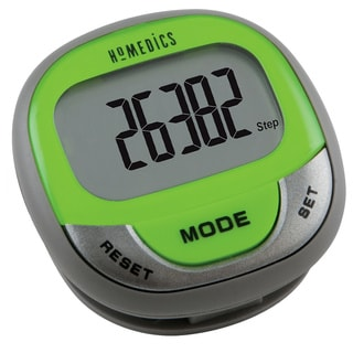 Green/ Grey Hip Pocket Pedometer