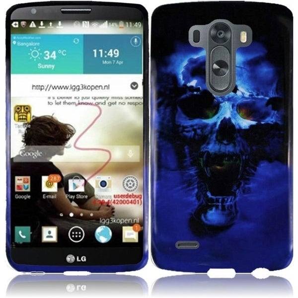 INSTEN Design Pattern Ultra Slim Fit Dirt Dust Proof Hard Plastic Phone Case Cover for LG G3