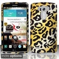 BasAcc Design Pattern Dirt Dust Proof Rubberized Hard Case Cover for LG G3