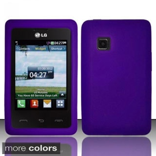 BasAcc Colorful Slim Fit Soft Silicone Rubber Skin Case Cover for LG 840G