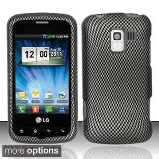 BasAcc Dustproof Rubberized Hard Case for LG Enlighten/ Gelato Q/ Optimus Slider
