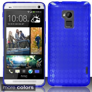 BasAcc Ultra Slim Dirt Dust Proof TPU Rubber Candy Skin Case for HTC One Max T6