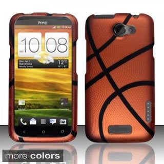 INSTEN Design Pattern Dust Proof Rubberized Hard Plastic Phone Case Cover for HTC One X