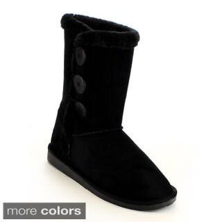 Mark & Maddux Women's 'Tom-6' Mid-calf Casual Boots