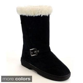 Mark & Maddux Women's 'Jeff-03' Mid-calf Winter Boots