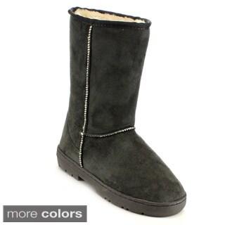 Mark & Maddux Women's 'Jeff-01' Mid-Calf Faux Fur-lined Boots