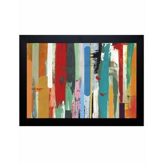 David Bailey 'Timelines II' Framed Art Print