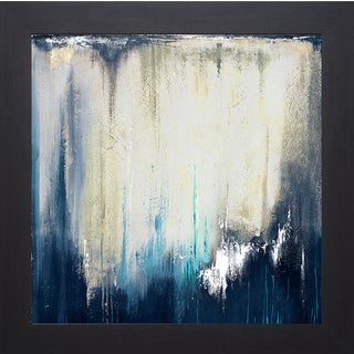 Patricia Pinto 'Blue Illusion II' Framed Art Print