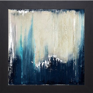 Patricia Pinto 'Blue Illusion I' Framed Art Print